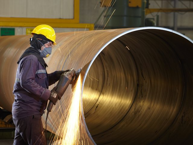 Bare Spiral Welded Steel Pipe