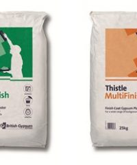 Thistle BoardFinish and MultiFinish Gypsum Finish Plaster