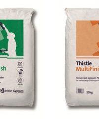 Thistle BoardFinish and MultiFinish Gypsum Finish Plaster