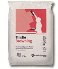 Thistle Browning Gypsum Undercoat Plaster