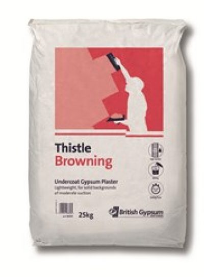 Thistle SprayFinish Gypsum Undercoat Plaster