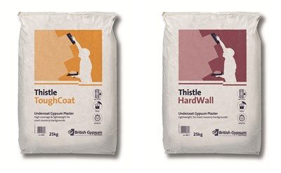 Thistle ToughCoat and Thistle HardWall