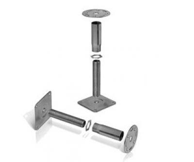 Access floor pedestal H-range