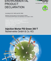 Injection Mortar FIS Green 300 T