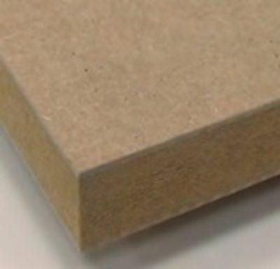 Plain and melamine-faced medium density fibreboards (MDF)