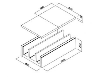 Precast Concrete Ducts/Channel