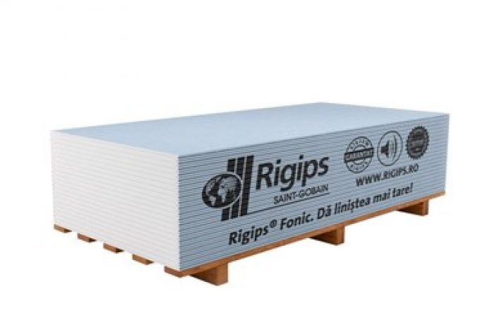 Rigips Fonic 12.5 mm – Acoustic Plasterboard
