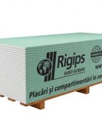 Rigips RBI 12.5 mm – Moisture Resistant Plasterboard