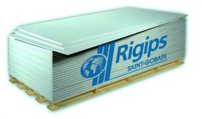 Rigips RBI 12.5 mm Moisture Resistant Board