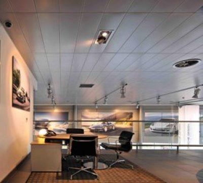 SAS System 120 Metal Ceiling (Aluminium)