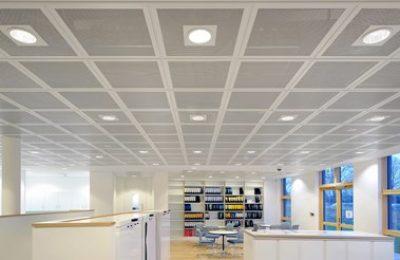 SAS System 130 Metal Ceiling (Aluminium)
