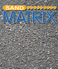 Sand Matrix – Secondary raw materials or aggregates of industrial origin
