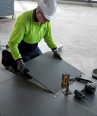 Steel Cementitious Access Floor System