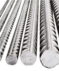 Steel rebar manufactured from steel TA42 and TA52
