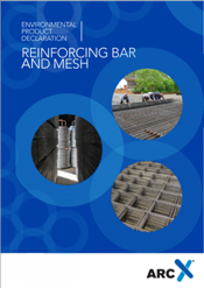 Steel reinforcing bar and mesh