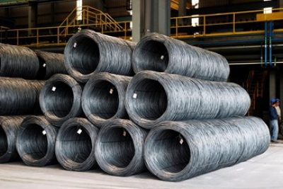 Steel wire rod manufactured from steel scrap