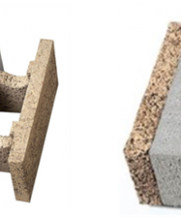 Wood cement blocks for wall systems