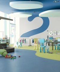 iQ One homogeneous non-PVC flooring