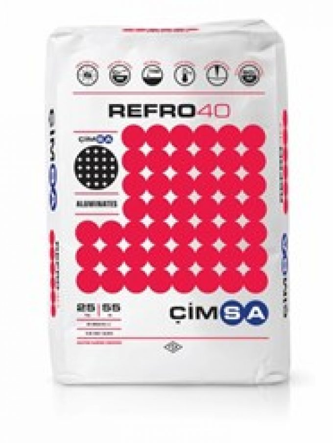 CimsaREFRO40 – Calcium Aluminate Cement