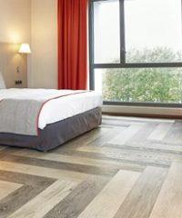 LVT Glue-down modular flooring