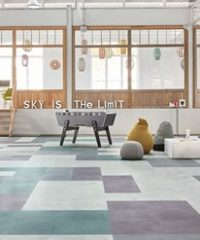 LVT Loose-lay modular flooring