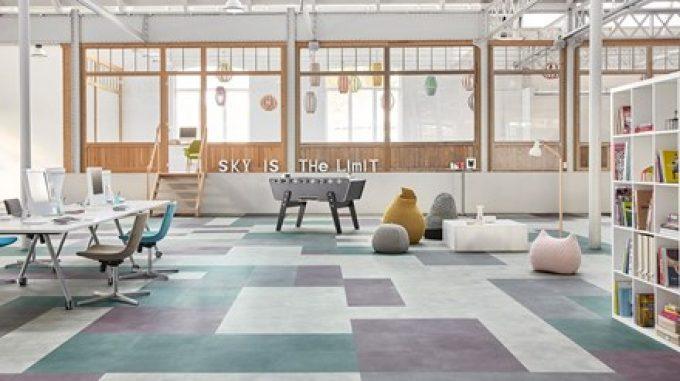 LVT Loose-lay modular flooring