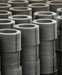 Hot-rolled reinforcing steel for concrete in bars and coils