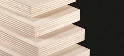 Multilayer panels of poplar plywood