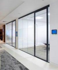 Aluminium Framed Glazed Doors