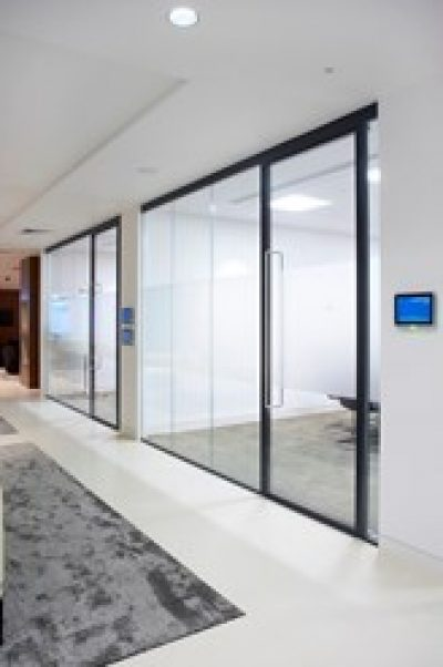 Aluminium Framed Glazed Doors