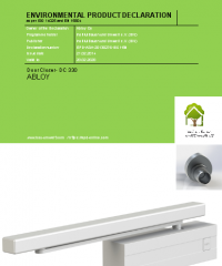Door closer DC 330 Abloy