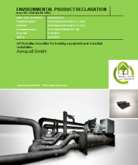 AF/Armaflex insulation for industrial and building installation