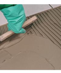 Mortar for laying ceramic tiles