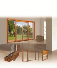 Laminated PVC Profiles for Windows and Doors
