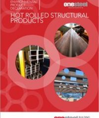 HOT ROLLED STRUCTURAL PRODUCTS