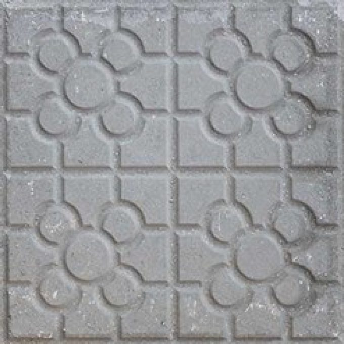 Hydraulic tile with steel slag