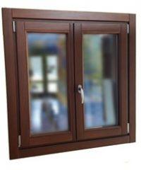 Exterior wooden window Zuhaizki 68